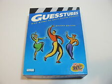 GUESSTURES 2nd EDITION SPLIT SECOND CHARADE PARTY GAME 2003