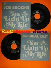 LP 45 7'' JOE BROOKS ORIGINAL CAST You light up my life 1977 italy cd mc dvd*