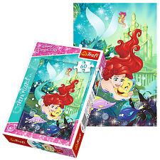 Trefl 60 Pieza Niños Chicas Disney Princesa Ariel Y Sus Amigos Rompecabezas Nuevo