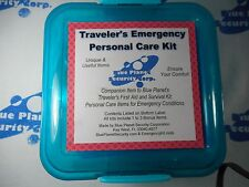 Traveler's Emergency Personal Care Kit, First Aid, Survival, Travel Safety