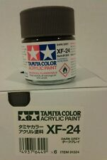 Tamiya acrylic paint XF-24 Dark Grey 23ml.