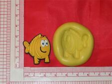 Mr. Grouper Bubble Guppies Silicone Push Mold A750 For Chocolate Fondant Candy