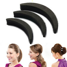 3 Sizes Hair Styling Clip Stick Bun Maker Volume Base Bump Braid Insert Tool Set