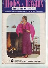 modes et travaux - 886 -  decembre 1974 -