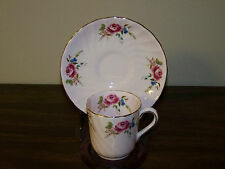 ROYAL TUSCAN DEMITASSE CUP & SAUCER SET - EXCELLENT CONDITION
