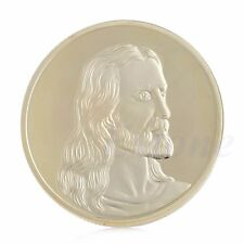 Jesus Last Supper Commemorative Coin Art Collection Collectible Christmas