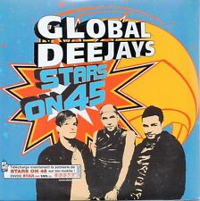 ★☆★ CD SINGLE GLOBAL DEEJAYS Stars on 45 - 1-track CARD SLEEVE  ★☆★