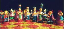 Chess Game, Colorful Simpson Chess Set for Kids & Family ,High Quality Best gift