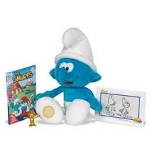 SMURFS 50th Anniversary Special 1st Edition Plush Toy DVD Collectible Figure NEW