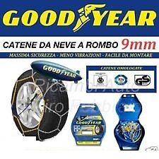CATENE DA NEVE GOOD YEAR 9mm  GRUPPO 50 RUOTE 195/45-15