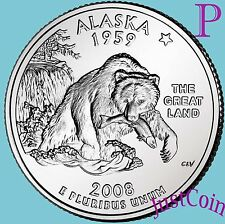 2008-P ALASKA STATE (AK) QUARTER UNCIRCULATED FROM U.S. MINT * STATE QUARTERS