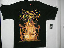 EMBRYONIC DEVOURMENT.NEW.MED SHIRT.DEATH METAL.ABORTED.DECAPITATED.NAPALM DEATH