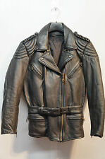 VINTAGE  HEROS BY HELD REAL LEATHER MOTORCYCLE JACKET SIZE 38