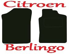 Citroen Berlingo Van DELUXE QUALITY Tailored mats 2002 2003 2004 2005 2006 2007