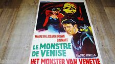 LE MONSTRE DE VENISE ! affiche cinema 1964