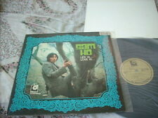 a941981  Sam Ho 何國禧 LP with Poster (Song of Bee Gees) Life Is.... Love Is ....