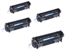 4PK Q2612A INK Toner Cartridge For HP 12A LaserJet 1010 1012 1018 1020 1022 3015