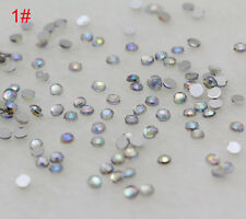 Hot 800PCS sparkling Resin Rhinestone Flatback Crystal 3mm AB color