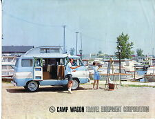 "Vintage Camper Sales Flyer: TEC ""CAMP WAGON"""
