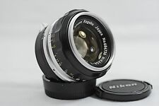 NIKON NON-AI 50MM F1.4 NIKKOR CAMERA LENS FOR F F2 NIKKORMAT (NEAR MINT)
