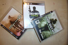 3 complet PLAYSTATION 3 PS3 jeux call of duty modern warfare 2 MW2 3 MW3 4 MW4