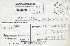 Camp Stalag IVD Torgau 1944 POW Prisoner of War Kriegsgefangenenpost (K22)