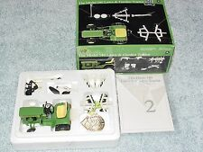 ERTL 1/16 JOHN DEERE MODEL 140 PRECISION #2 LAWN & GARDEN TRACTOR W IMPLEMENTS