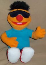 "13"" Ernie Sesame Street Hasbro Guitar Playing Sunglasses 2011 Let's Rock Music"