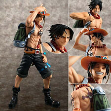 Japanese Anime One Piece POP Portgas D Ace Action Statue Figurine 23cm no box