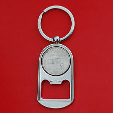 2001 North Carolina State Quarter BU Unc Coin Key Chain Ring Bottle Opener NEW