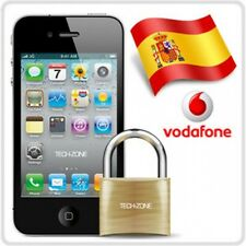Factory Unlock Vodafone Spain iPhone 4 4S 5 5C 5S 6 6+ Express Premium ALL IMEI