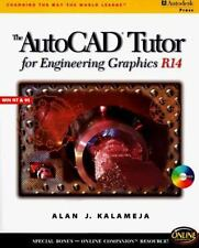 AutoCAD Tutor for Engineering Graphics R14 Windows by Alan J. Kalameja (1997,...