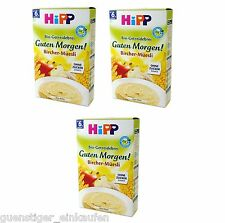 18,44€/kg3x 250g Hipp Organic Porridge Good Morning Bircher Muesli without Sugar