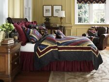 Donna Sharp Chesapeake Postage Stamp Quilted Valance or Runner, New, Free Shippi