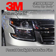 Headlight Protection Film by 3M for 2014-2015 Suburban