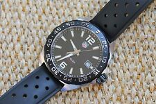 Tag Heuer NWOT NEW WAZ1110.FT8023 Formula One Watch Mens BLACK MINT BOX COST $1K