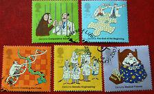 Gran Bretaña GB 50th aniversario del descubrimiento de ADN 2003 conjunto de cinco sellos VFU CTO