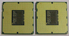 SLBF4 MATCHED PAIR INTEL XEON QUAD CORE CPU PROCESSOR X5560 2.8GHZ/8M/6.40