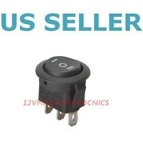 ON/OFF/ON 3 Position Round Boat Rocker Switch (1pc) Universal / RS3-1