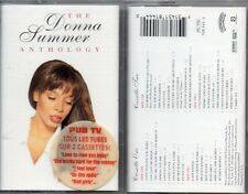 2 K7 Cassette Tape Donna SUMMER | Anthology - 2 Cassettes - french Sticker