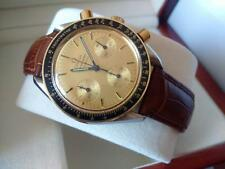 OMEGA Speedmaster 18K Gold & Steel Automatic Chronograph Swiss Watches