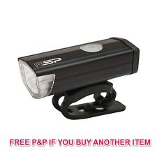 RSP VISIO USB RECHARGEABLE FRONT BIKE LIGHT CYCLE LAMP 300 LUMEN LAA564 50% OFF