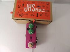 JHS MINI FOOT FUZZ EFFECTS PEDAL w/ORIGINAL BOX FREE U.S. SHIPPING