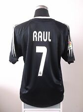 RAUL #7 Real Madrid Away Football Shirt Jersey 2004/05 (L)