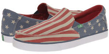 D17 - Sanuk Sideline Patriot Shoes - New Mens 10 Multi - #26259