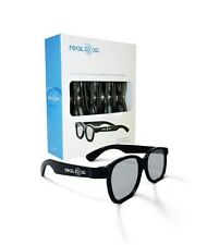 RealD 3D Glasses 4-pack for TVs, monitors and laptops NEW