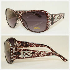 New Retro DG Eyewear Womens Rhinestones Sunglasses Designer Shades Fashion Wine