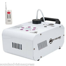 American DJ VF Volcano 750W Vertical Smoke Fog Machine ADJ + Lights + Remote