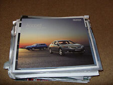 Honda Accord Saloon and Tourer 2010 Brochure VTec Dtec