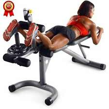Home Gym Exercise Equipment Machine Total Body Workout Bench Fitness Adjustable